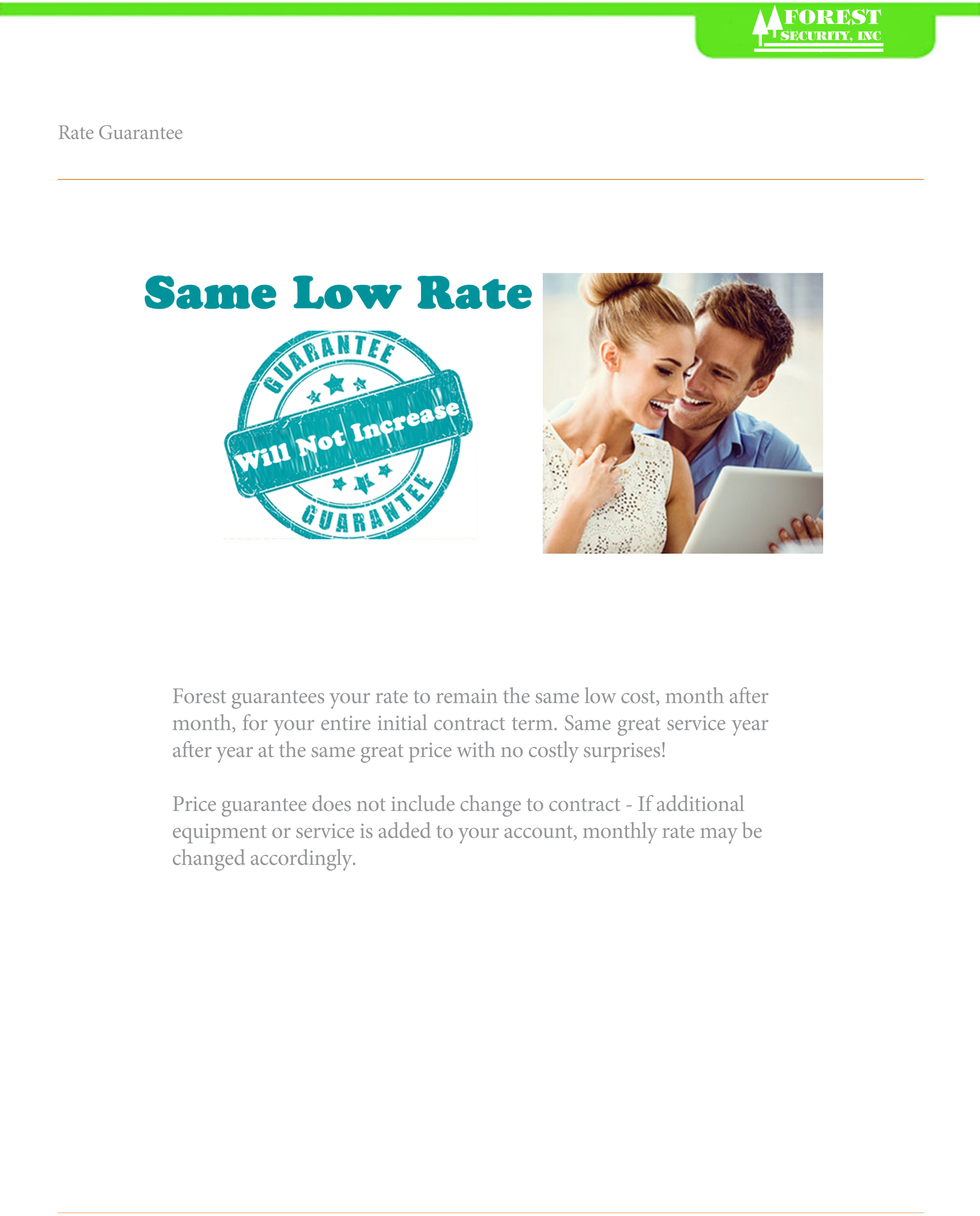 rate-guarantee