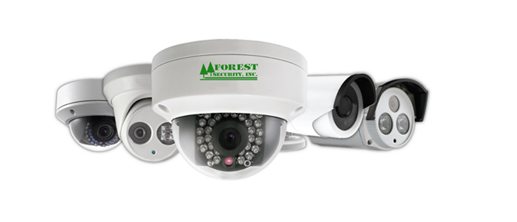 video security cameras Forest Security